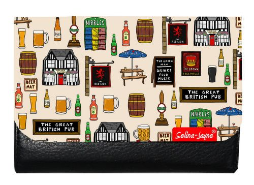 Selina-Jayne British Pub Limited Edition Designer Small Purse